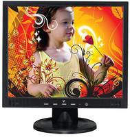 "V7 LCD19S1 19"" Nero monitor piatto per PC"