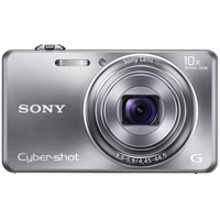 "Sony Cyber-shot DSC-WX100 Fotocamera compatta 18.2MP 1/2.3"" CMOS 4896 x 3672Pixel Argento"