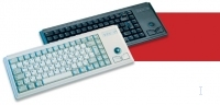 Cherry Compact keyboard with trackball G84-4400 USB+PS/2 Grigio tastiera