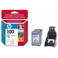 HP 100 Grey Photo Inkjet Print Cartridge with Vivera Inks Nero, Grigio cartuccia d