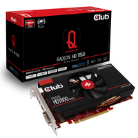 CLUB3D CGAX-7856F Radeon HD7850 2GB GDDR5 scheda video