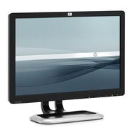 "HP L1908w Flat Panel Monitor 19"" Nero monitor piatto per PC"