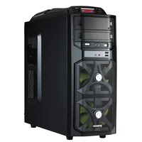 Gigabyte GZ-G1 Plus Midi-Tower Nero vane portacomputer