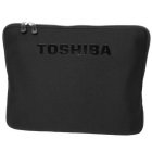 "Toshiba More4You Sleeve 17"" 17"" Custodia a tasca Nero"