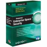 Kaspersky Lab Enterprise Space Security, 10-14 users, 3 Years 10 - 14utente(i) 3anno/i