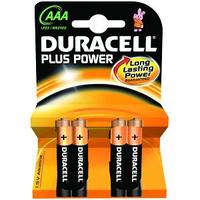 Pila Duracell ministilo AAA confezione 4