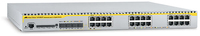 Allied Telesis 24-port 10/100/1000BaseT Managed Layer 3 Switch w/ 4x SFP slots Gestito L3 Bianco