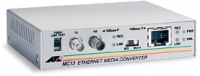 Allied Telesis 10T to 10FL (ST) Media Converter, EU power cord 10Mbit/s convertitore multimediale di rete