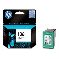 HP 136 Tri-color Ciano, Giallo cartuccia d