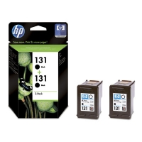 HP 131 2-pack Nero cartuccia d