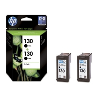 HP 130 2-pack Nero cartuccia d