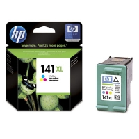 HP 141XL Tri-color Ciano, Giallo cartuccia d