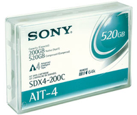 Sony DATA CARTRIDGE AIT4 200 520GB