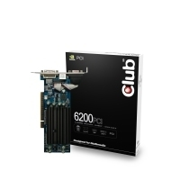 CLUB3D CGN-628P GeForce 6200 GDDR scheda video
