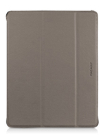 Macally Protective Case Stand Custodia a libro Grigio