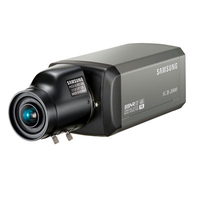 Samsung SCB-2000 IP security camera Interno e esterno Nero