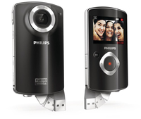 Philips Videocamera HD CAM101BL/00
