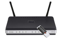 D-Link DKT-400 Fast Ethernet Nero, Argento router wireless