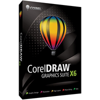 Corel CorelDRAW Graphics Suite X6, Lic, 501-1000u, ML