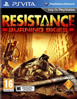 Sony Resistance, Burning Skies, PS Vita PlayStation Vita videogioco