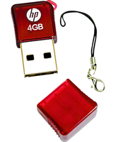 HP v165w 4GB 4GB USB 2.0 Tipo-A Rosso unità flash USB