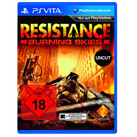 Sony Resistance: Burning Skies PlayStation Vita Tedesca videogioco