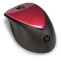 HP x4000 Wireless Mouse w/ Laser Sensor RF Wireless Laser 1600DPI Ambidestro mouse