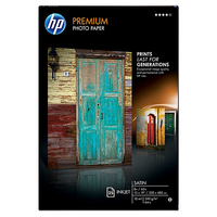 HP Premium Satin 25 sht/A3+/330 x 483 mm (13 x 19 in) Satinata Bianco carta fotografica