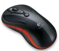 Logitech MediaPlay Cordless Mouse - Red RF Wireless Ottico Rosso mouse