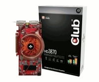 CLUB3D CGAX-3872DDO GDDR4 scheda video