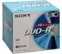 Sony DVD-R 8X2DMRIP-ITC 4.7GB DVD-R