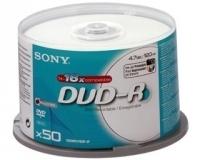 Sony DVD-R Printable 40X10DMRSPIP-ITC 4.7GB DVD-R