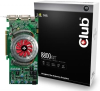 CLUB3D CGNX-G882DDF GeForce 8800 GT GDDR3 scheda video
