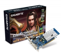 Gigabyte GeForce 7200 GS GPU - 128MB GeForce 7200 GS GDDR2