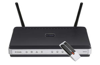 D-Link DKT-400/E Fast Ethernet Nero, Argento router wireless