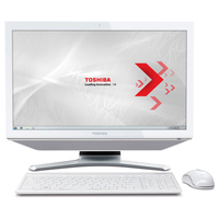 "Toshiba DX730-10X 2.5GHz i5-2450M 23"" 1920 x 1080Pixel Touch screen Bianco"