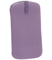 Cellularline Cleaning Sleeve Custodia a scorrimento Viola