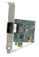 Allied Telesis 100FX Desktop PCI-e Fiber Network Adapter Card w/PCI Express, Federal & Government 100Mbit/s scheda di rete e adattatore