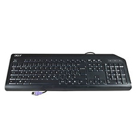Acer KB.PS203.211 PS/2 QWERTY Pan Nordic Nero tastiera