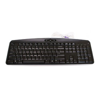 Acer KB.PS203.244 PS/2 QWERTY Pan Nordic Nero tastiera