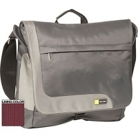 "Case Logic TK Messenger Bag Silver 15.4"" Argento"