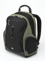 "Case Logic Lightweight Sport Backpack Green 15.4"" Zaino"