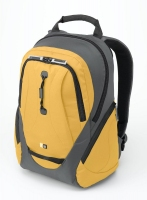"Case Logic Lightweight Sport Backpack Gray/Yellow 15.4"" Zaino Giallo"