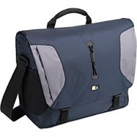 "Case Logic Lightweight Sport Messenger Bag Blue/Grey 15.4"" Borsa da corriere Blu"