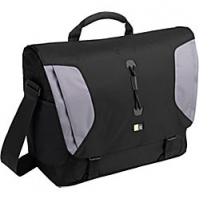 "Case Logic Lightweight Sport Messenger Bag Black/Grey 15.4"" Borsa da corriere"