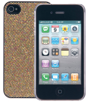 Cellularline Glitter Cover Oro