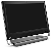"HP TouchSmart 520-1102es 3.3GHz i3-2120 23"" 1920 x 1080Pixel Touch screen Nero"
