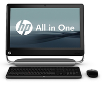 "HP TouchSmart 520-1101ed 2.7GHz i5-2390T 23"" 1920 x 1080Pixel Touch screen Nero"