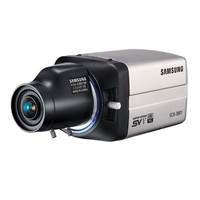 Samsung SCB-3001 IP security camera Interno e esterno Nero