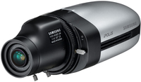 Samsung SNB-1001 IP security camera Interno e esterno Capocorda Nero, Argento